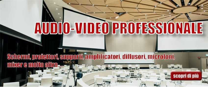 Audio-Video professionale